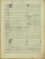Music manuscripts